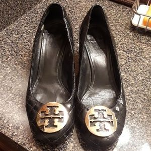 Tory Burch wedge Patent Leather heels 9
