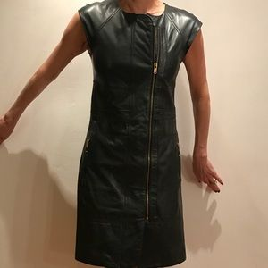 Marc by Marc Jacobs Leather Dress