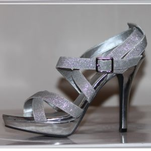 Fioni Night Strappy Glitter Heels