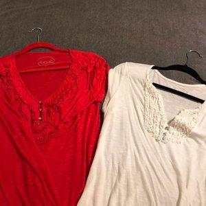 Bundle of two INC shirts!