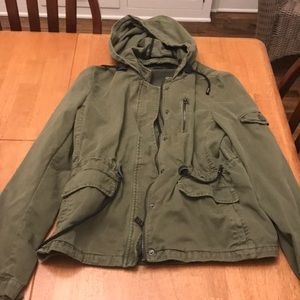 Forever 21 drawstring jacket