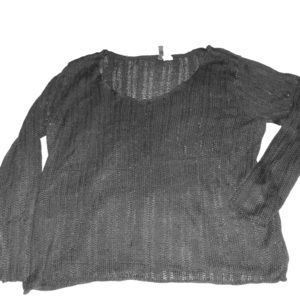 Black knit sweater from H&M