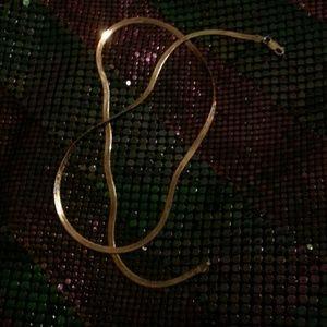 Jewelry - Vintage sterling herringbone- Canadian
