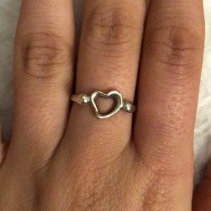Tiffany Elsa Peretti Open Heart Ring