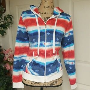 Patriotic Juicy Couture Hoodie Sweatshirt
