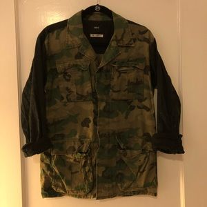 Urban Outfitters BDG Two-Tone Military Jacket