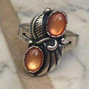 Jewelry - Native American Sterling MOP Ring