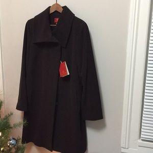 Brand new with tags! Cole Haan Brown Wool Coat