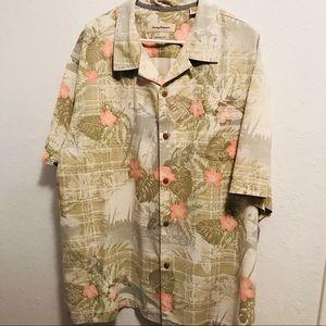 Tommy Bahama camp shirt xxl