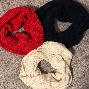Bundle of Forever 21 Knitted Scarves