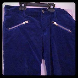 Gap Always skinny 29R velvet pants