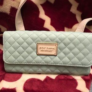 Betsey Johnson New York NY Crossbody Wallet/Bag