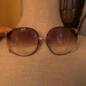 Christian Dior glasses.