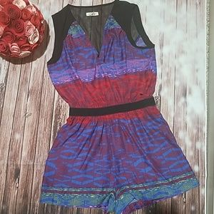 Silence & Noise Colorful Romper