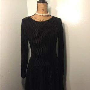 Black Fitted Ivanka Trump Dress