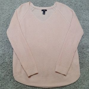 [GAP] Baby Pink V Neck Sweater