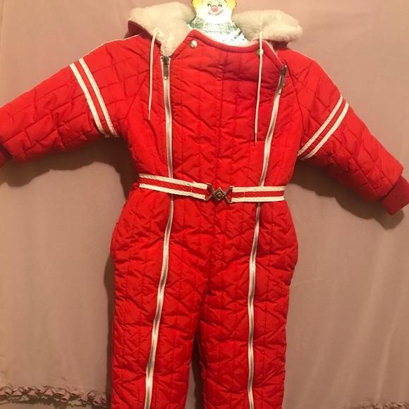A Christmas Story Kid In Snowsuit.Sale Rare Vintage Snowsuit