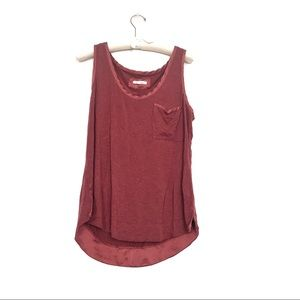 Pure + good Anthropologie rayon tank