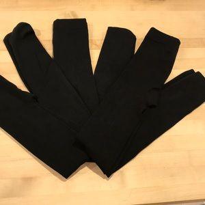 Pants - Fleece lined leggings (1) tights(2) 3 total