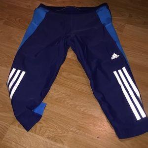Adidas Navy Sweats Small