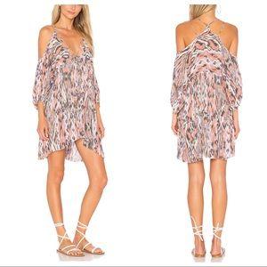•Free People• Printed Mini Dress