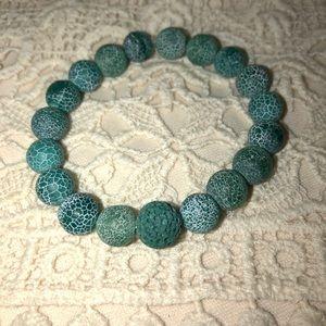 Essential Oil Diffuser bracelet Agate & Lava stone