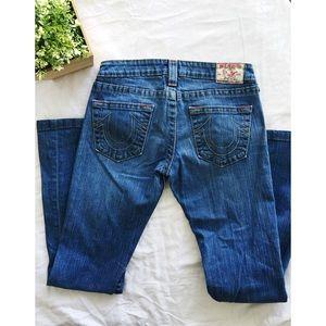 True religion Size 28 women's boot cut jeans
