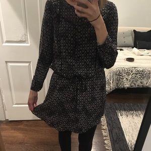 Rebecca Taylor Silk blouson dress