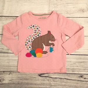 Mini Boden appliqué shirt