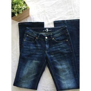 7 for all man kind jeans size 26