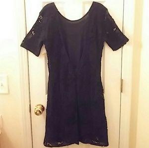 Gorgeous Low Back Lace Dress