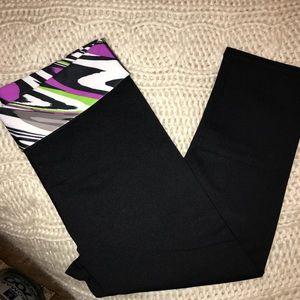 Fold over leggings!