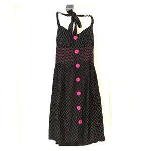 Retro style polka dot dress