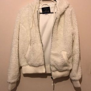 Empyre Fur Jacket with Hood