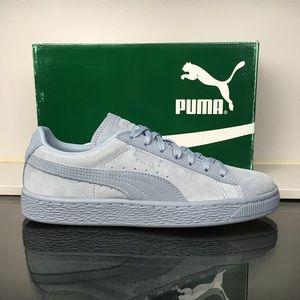 Puma Blue Fog Suede Classic Tonal Jr