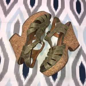 Jeffery Campbell Heather Cork Platform Sandals