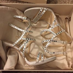 Vince Camuto sparkly shoes
