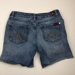 7 For All Mankind Bottoms - 7 for all mankind shorts