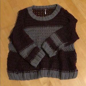 ❄️Free People Oversized Sweater