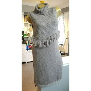 Nwt Anthro Nomad Morgan Carper ALPINA grey tunic