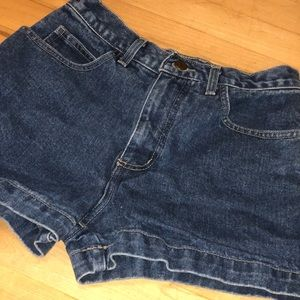 Denim shorts Guess