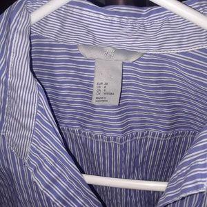 Womens H&M dress shirt