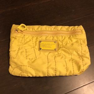 Yellow /Chartreuse Marc By Marc Jacobs Nylon Pouch