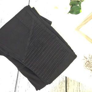 comfy black pullon moto skinny fit jeans! 🙌