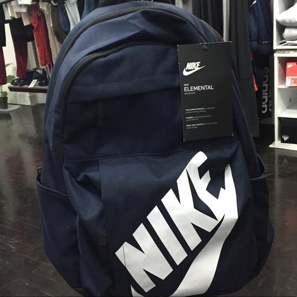 a7949ae96c New Nike Elemental backpack navy unisex NWT