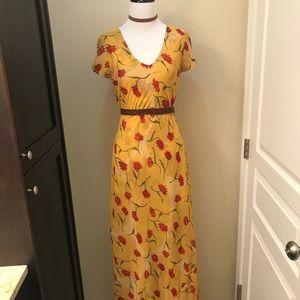 Beautiful Reversible Vintage Dress