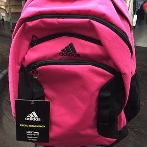 NWT ADIDAS EXCEL III backpack woman