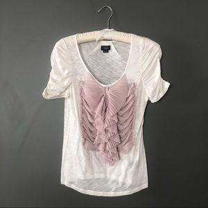 Deletta Anthropologie cotton blouse