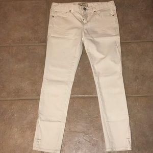 NWOT Free People Ankle Crop Skinny Jeans