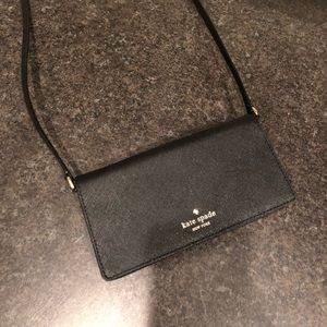 Kate Spade crossbody iPhone wallet